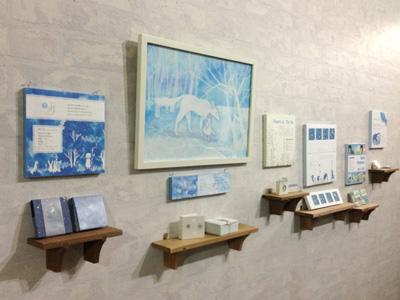 個展「ちいさな絵本の世界」展示風景2