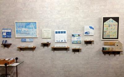 個展「ちいさな絵本の世界」展示風景3