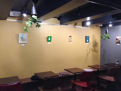 作家選抜展「つくし荘」  MITTS COFFEE STAND ミニ展示