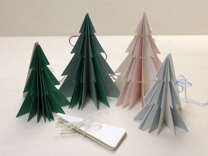 クリスマスのミニツリーブック
